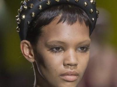 Baby Bangs and Oversize Headbands Are the Next Big Thing, According to the Prada Runway