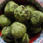 Chocolate Matcha Vegan Energy Balls