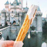 Disneyland Now Has Glittery Pineapple Churros With Marshmallow Sauce - I Need to Lie Down