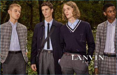 Lanvin Heads Outdoors for Spring '17 Campaign