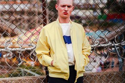 Kaptain Sunshine's 2017 Spring/Summer Lookbook Shows Us How to Balance Bright and Neutral Hues