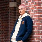 There's a Simple Reason Evan Mock Has a Pink Buzz Cut in the Gossip Girl Reboot