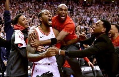 Leonard's ridiculous buzzer-beater sends Raptors to Eastern finals