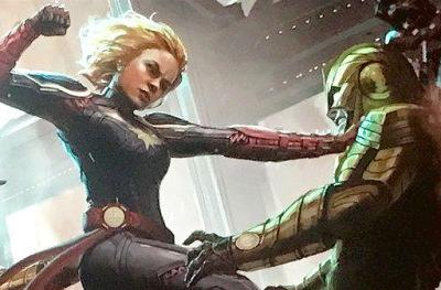 Captain Marvel Can Move Planets According to Brie LarsonBrie