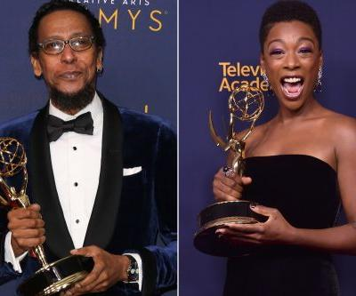 Emmys make history as black actors sweep guest categories