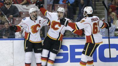 Chad Johnson leads Flames past Panthers for 3rd straight win