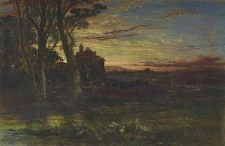 Samuel Bough, The Haunted House, Evening