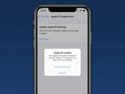 Some iOS Users Are Finding Their Apple ID Accounts Have Been Locked