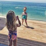 Chrissy Teigen Shares Cute Pics of Luna Leading Her Own Photo Shoot -Check Out Her Pose!