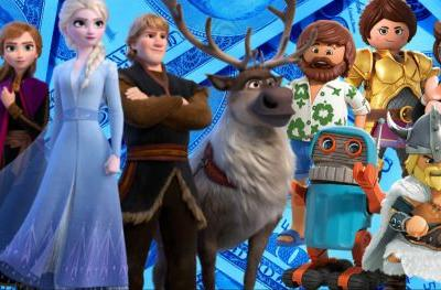 Frozen 2 Wins 3rd Weekend as Playmobil Stumbles at the Box