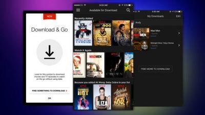 Netflix Adds Offline Viewing for Phones and Tablets