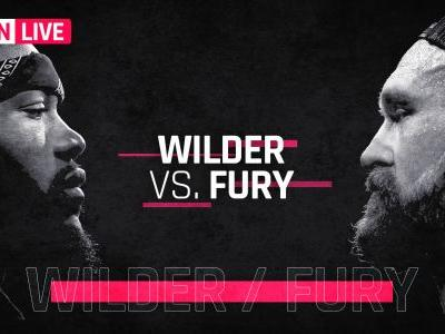 Wilder vs. Fury results, live updates and round-by-round scoring
