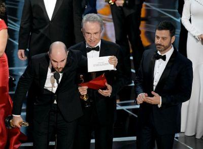 Oscars 2017: THEY READ OUT THE WRONG BEST PICTURE WINNER
