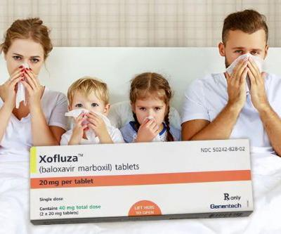 Xofluza Prophylaxis Mostly Stopped Flu in Japanese Families