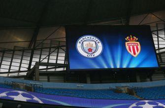 Manchester City hosts Monaco in potentially explosive Champions League series