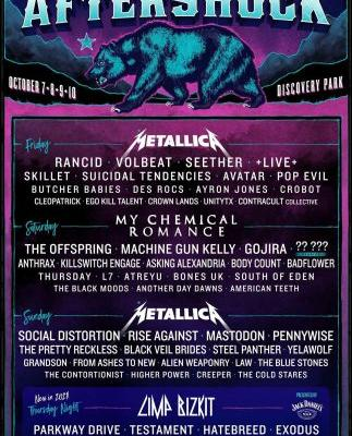 Aftershock Festival 2021 Lineup