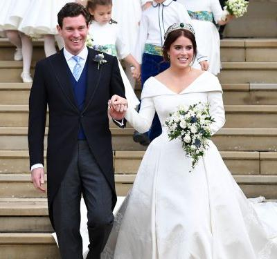 All the ways Princess Eugenie's wedding broke from royal tradition