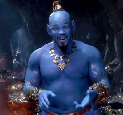 Disney finally gives fans a look at the Genie in the first full trailer for the live-action 'Aladdin' movie