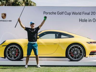 Hole In One Scores Marco Leoni New Porsche 911 Carrera S