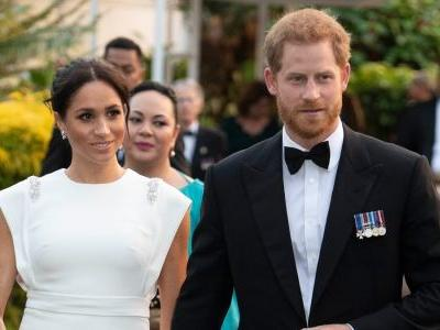 Meghan Markle Wore a Thing: White Theia Dress in Tonga Edition