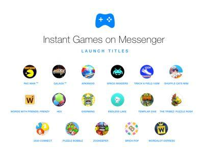Fun Gets Right up in Your Facebook Again With Instant Games