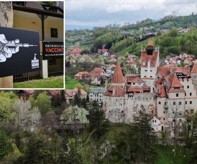 'Dracula's castle' lures visitors with COVID-19 vaccines