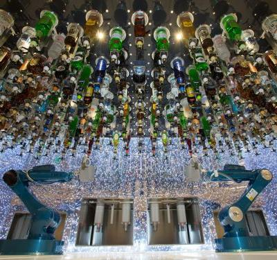 The world's largest cruise ship has robot bartenders and a suite that can cost over $60,000 - here's a look inside