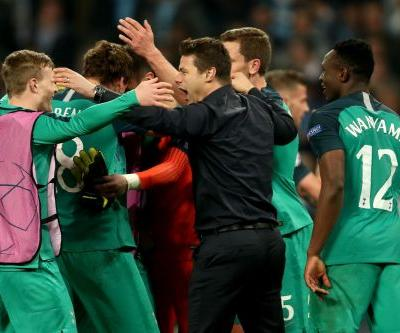 Mauricio Pochettino hails Tottenham 'heroes' after Man City triumph: 'This is why we love football'