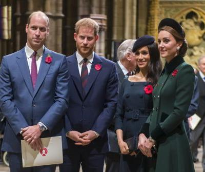 Kate and Will Had a Double-Date Night With Meghan and Harry, and You Probably Missed It