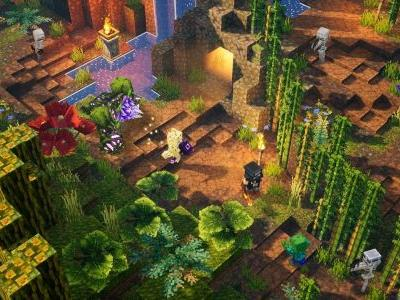 Minecraft Dungeons is getting cross-play, as well as DLC