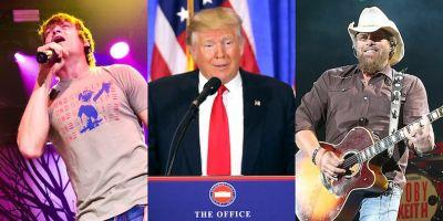 3 Doors Down, Toby Keith Performing at Trump Inauguration Event