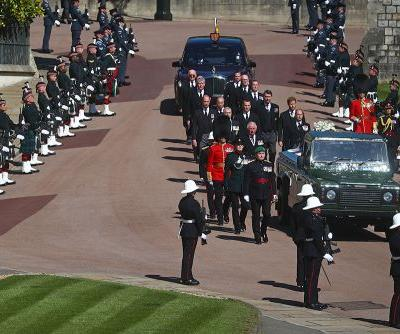 Scenes From Prince Philip's Funeral