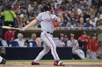 Zimmerman's homer lifts Nationals to 2-1 win vs Padres