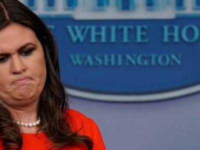 Sarah Sanders said she was asked to leave a Virginia restaurant because she works for Trump