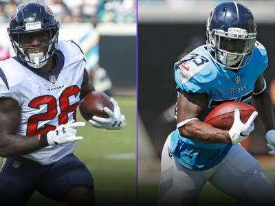 Fantasy Football Rankings Week 9: RBs