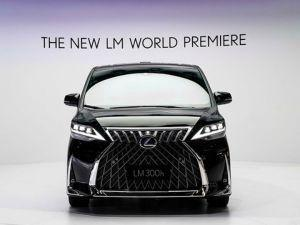 Lexus LM MPV Unveiled At Auto Shanghai 2019