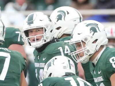 Michigan State shields Brian Lewerke, Rocky Lombardi from QB haze