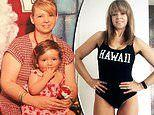 Mother-of-two, 49, sheds seven dress sizes in two years after weighing in at 91 kilograms