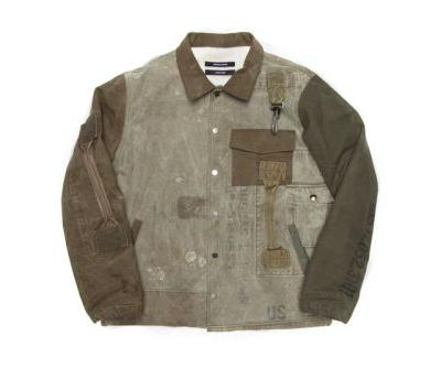 Advent Calendar Day 3: Reese Cooper Reconstructed Vintage Military Coaches Jacket