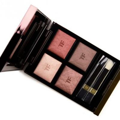 Tom Ford Body Heat Eye Color Quad Review & Swatches