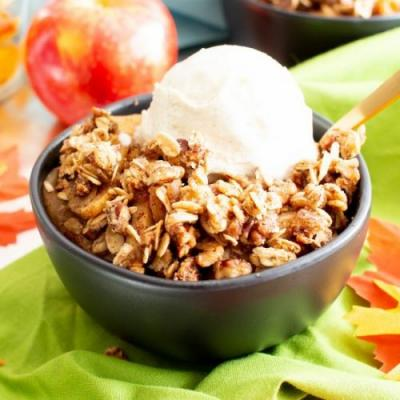 VGF Cinnamon Apple Crisp with Oats