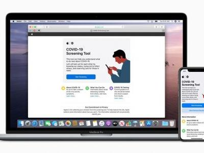 Apple Launches COVID-19 Information Website And App