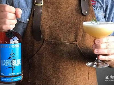 The Libertine With Balcones Baby Blue Whisky