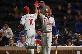 Realmuto launches go-ahead home run in the 10th to lead Phillies over Cubs