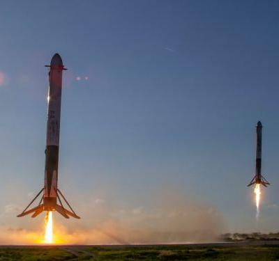 A SpaceX rocket survived space, but was torn apart by high seas