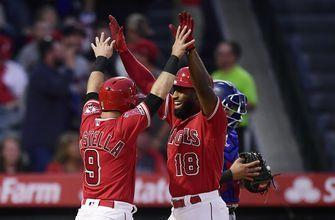 Rangers score 2 in seventh, rally for 4-3 win over Angels