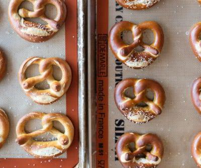 Making pretzels at home: lye, baking soda, and shaping