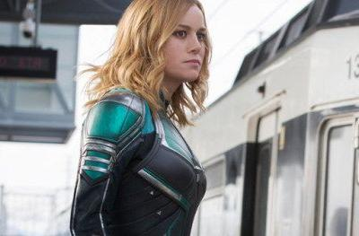 First Captain Marvel Clip Shows Off Extended Train FightBrie