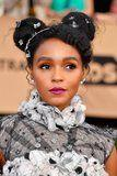 Janelle Monáe's SAGs Hair Accessories Look Like Modern '90s Butterfly Clips