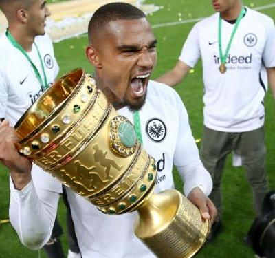 Kevin-Prince Boateng wins first trophy with Eintracht Frankfurt